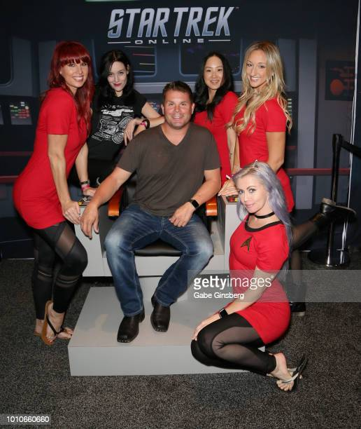 Amanda Nowak Chelsea Rayl producer and CEO of Roddenberry Entertainment Eugene 'Rod' Roddenberry Jr Ali Butner Shayla Chiaverini and Jessica Kemble...