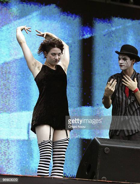 Amanda Palmer and Brian Viglione of The Dresden Dolls