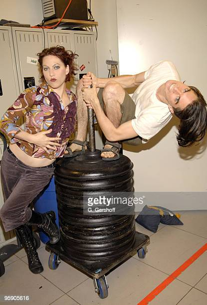 Amanda Palmer and Brian Viglione of The Dresden Dolls