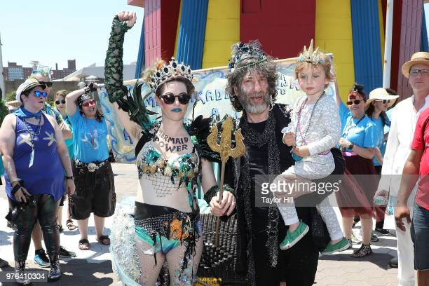 Atmosphere during the 2018 Coney Island Mermaid Parade on June 16 2018 in New York City