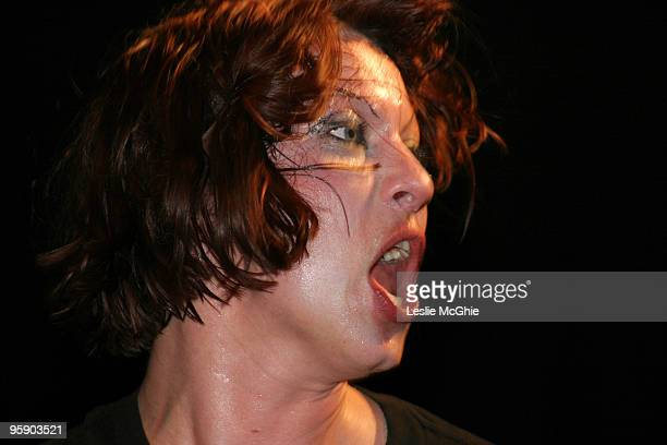 Amanda Palmer of The Dresden Dolls in concert