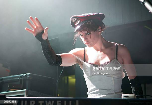 Amanda Palmer performs at St Andrews Hall on November 13 2012 in Detroit Michigan