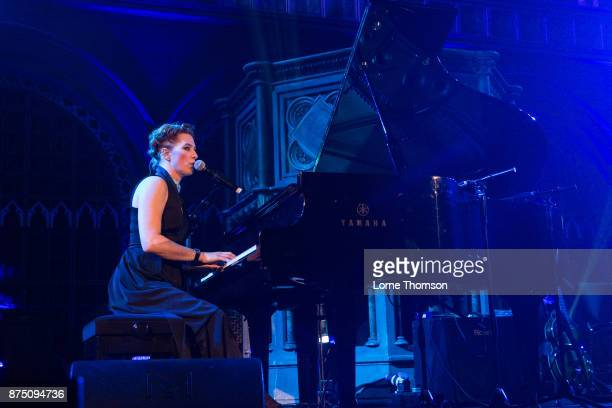 Amanda Palmer performs at the Union Chapel on November 16 2017 in London England