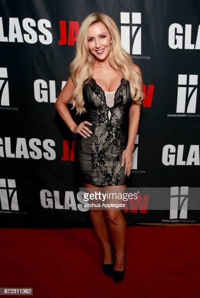 Amanda Paris at the premiere of 'Glass Jaw' at Universal Studios Hollywood on November 9 2017 in Universal City California