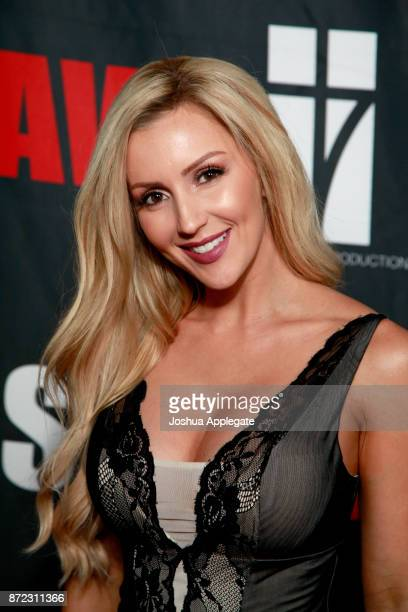 Amanda Paris at the premiere of 'Glass Jaw' at Universal Studios Hollywood on November 9 2017 in Universal City California