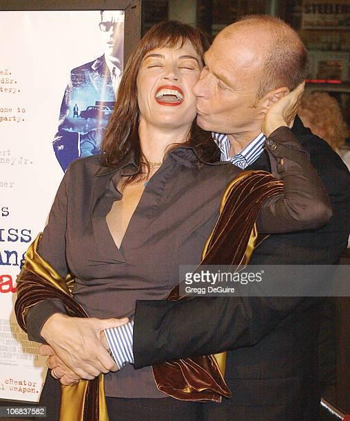 Amanda Pays and Corbin Bernsen during 9th Annual Hollywood Film Festival Opening Night Screening of Kiss Kiss Bang Bang Arrivals at Grauman's Chinese...