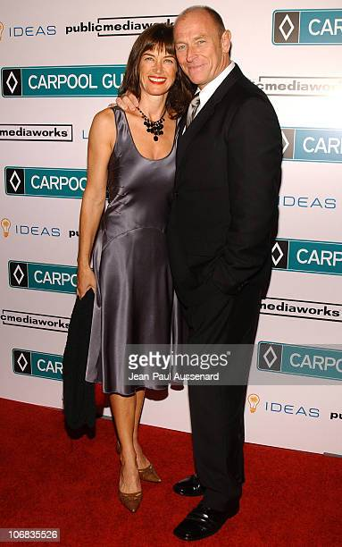 Amanda Pays and Corbin Bernsen during World Premiere of The Public Media Works Independent Feature Film Carpool Guy Arrivals at The ArcLight in...
