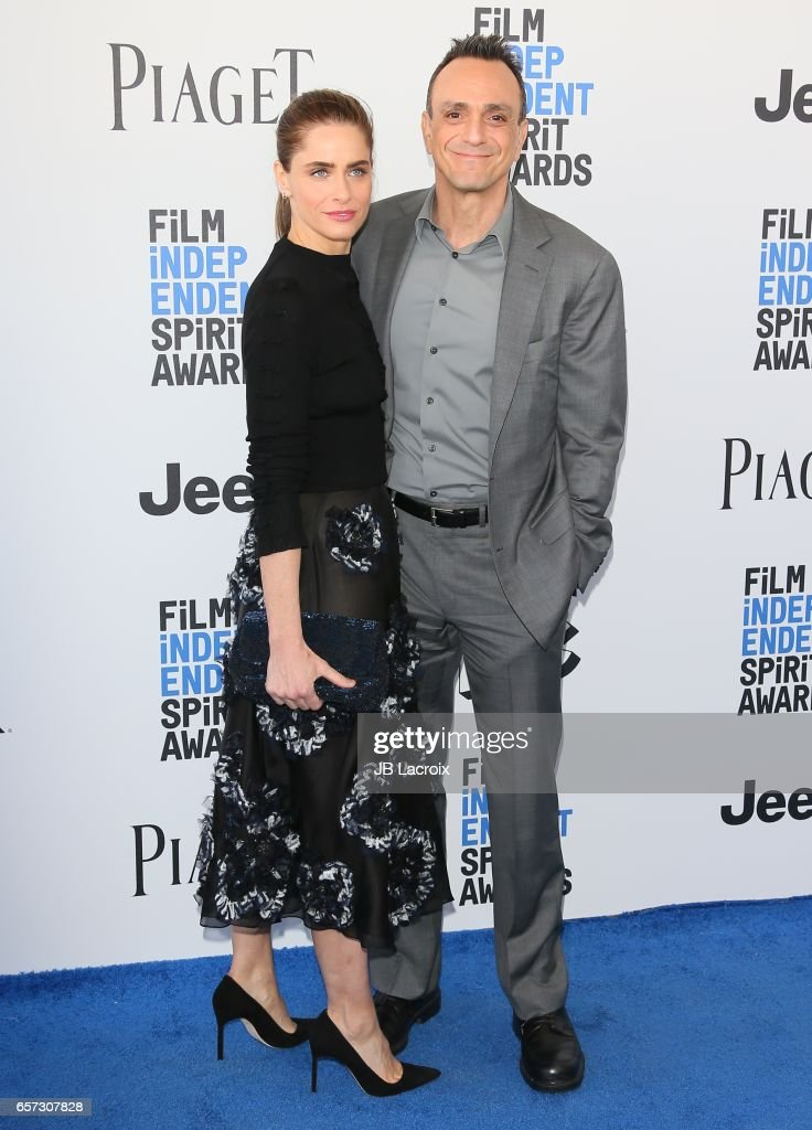 Amanda Peet and Hank Azaria attends the 2017 Film Independent Spirit Awards on February 25, 2017 in Santa Monica, California.