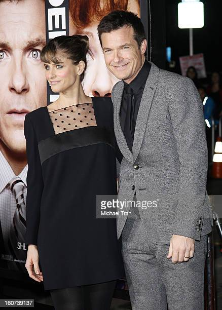 """Amanda Peet and Jason Bateman arrive at the Los Angeles premiere of """"Identity Thief"""" held at Mann Village Theatre on February 4, 2013 in Westwood,..."""