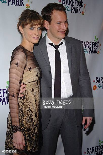 Amanda Peet and Patrick Wilson attend Afterparty for The Opening of 'Barefoot In The Park' Sponsored by Grey Goose Vodka at The Central Park...