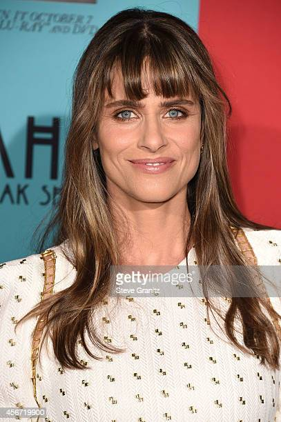 Amanda Peet arrives at the American Horror Story Freak Show Los Angeles Premiere at TCL Chinese Theatre IMAX on October 5 2014 in Hollywood California