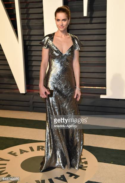 Amanda Peet as she arrives at the Vanity Fair Oscar Party in Beverly Hills California Los Angeles on February 26 2017