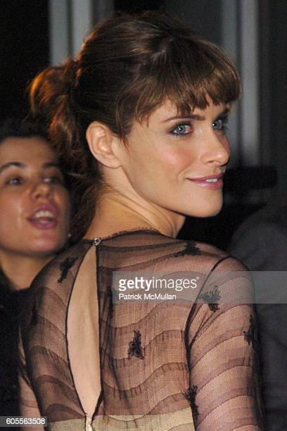 Amanda Peet attends Afterparty for The Opening of 'Barefoot In The Park' Sponsored by Grey Goose Vodka at The Central Park Boathouse on February 16...