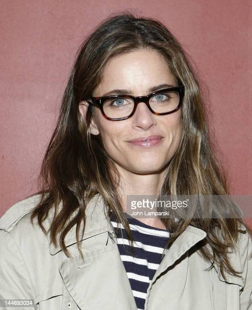 """Amanda Peet attends """"Cock"""" Opening Night at The Duke on May 17, 2012 in New York City."""