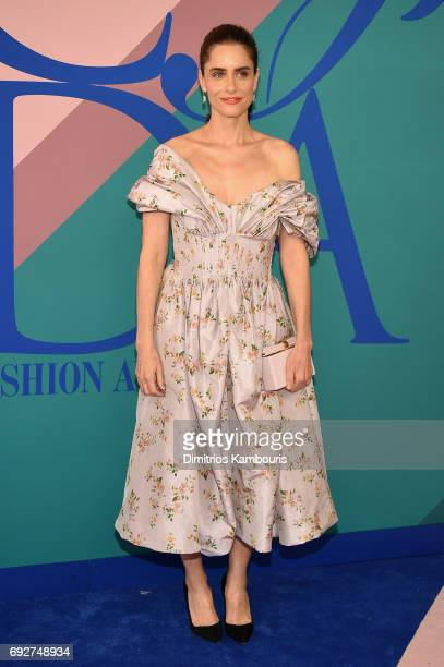 Amanda Peet attends the 2017 CFDA Fashion Awards at Hammerstein Ballroom on June 5 2017 in New York City