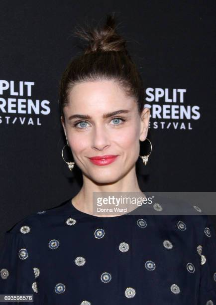 Amanda Peet attends the 2017 Split Screens Festival to discuss 'Brockmire' at IFC Center on June 7 2017 in New York City