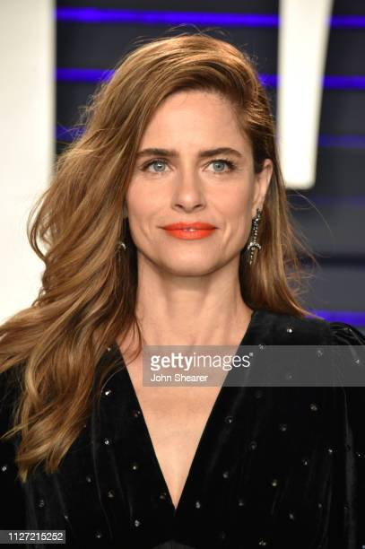 Amanda Peet attends the 2019 Vanity Fair Oscar Party hosted by Radhika Jones at Wallis Annenberg Center for the Performing Arts on February 24 2019...