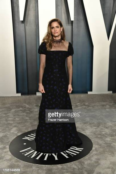 Amanda Peet attends the 2020 Vanity Fair Oscar Party hosted by Radhika Jones at Wallis Annenberg Center for the Performing Arts on February 09 2020...