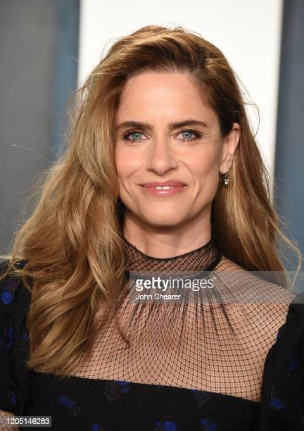 Amanda Peet attends the 2020 Vanity Fair Oscar Party hosted by Radhika Jones at Wallis Annenberg Center for the Performing Arts on February 09, 2020...