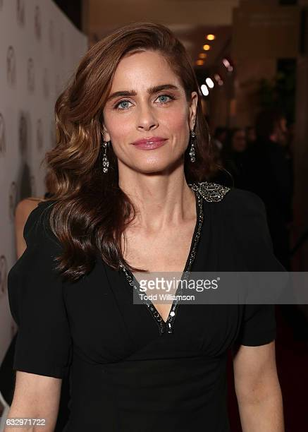 Amanda Peet attends the 28th Annual Producers Guild Awards at The Beverly Hilton Hotel on January 28 2017 in Beverly Hills California