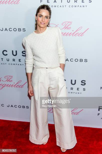 Amanda Peet attends 'The Beguiled' New York premiere at The Metrograph on June 22 2017 in New York City