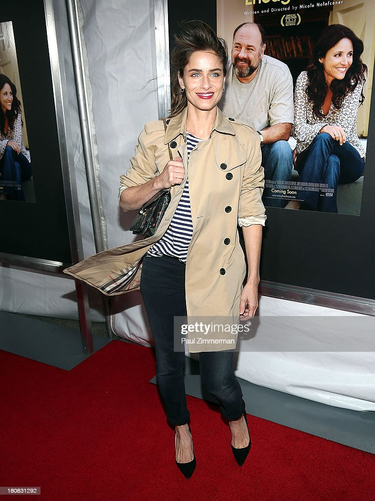 Amanda Peet attends the 'Enough Said' New York Screening at Paris Theater on September 16, 2013 in New York City.