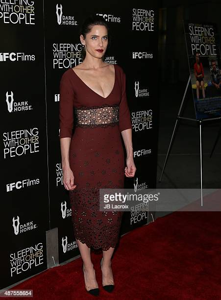 Amanda Peet attends the premiere of IFC Films' 'Sleeping with other people' held at ArcLight Cinemas on September 9 2015 in Hollywood California
