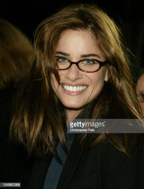 Amanda Peet during In The Cut Los Angeles Premiere at Academy of Motion Pictures Arts and Sciences in Beverly Hills California United States