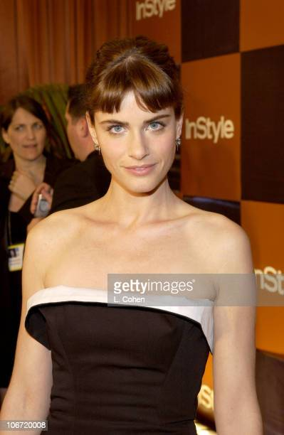 Amanda Peet during InStyle Magazine Hosts Fourth Annual PostGolden Globes Party to Honor Hollywood's Elite Arrivals at The Beverly Hilton Hotel in...
