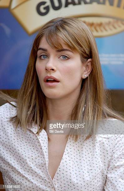 Amanda Peet during Nancy Myers Untitled Project at New York City in New York City New York United States