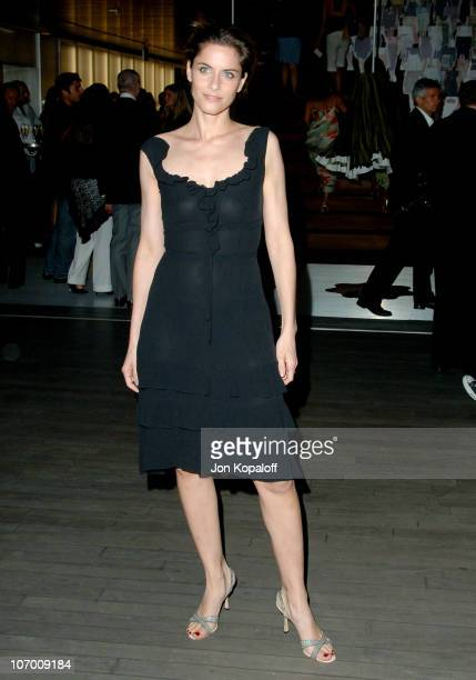 Amanda Peet during Prada Celebrates the Los Angeles Opening of 'Waist Down Skirts By Miuccia Prada' in Beverly Hills California United States