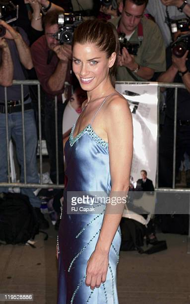 Amanda Peet during Whipped Premiere at Chelsea West in New York City New York United States