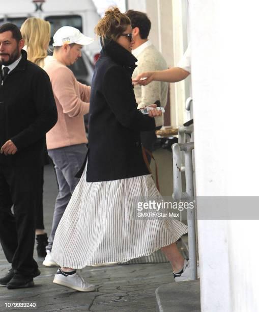 Amanda Peet is seen on January 9 2019 in Los Angeles California