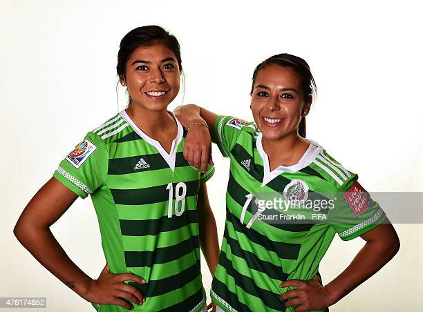 Amanda Perez and her sister Veronica Perez of Mexico poses for a portrait on June 6 2015 in Moncton Canada