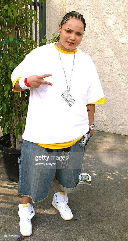 Amanda Perez during 102.7 KIIS FM's Wango Tango 2003 - The Ultimate Reality Show at Rose Bowl Stadium in Pasadena, California, United States.