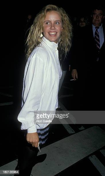 Amanda Peterson sighted on August 8 1988 at Ed Debevic's Restaraunt in Beverly Hills California