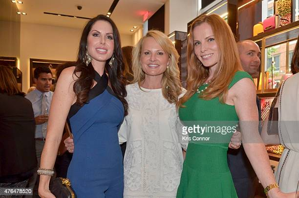 Amanda Polk Jamie Dorros and Amy Baier attend the CH Carolina Herrera Grand Opening at CityCenterDC on June 9 2015 in Washington DC