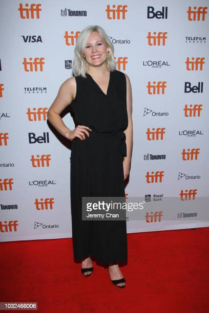 Amanda Presmyk attends the 'The Standoff At Sparrow Creek' premiere during 2018 Toronto International Film Festival at Ryerson Theatre on September...
