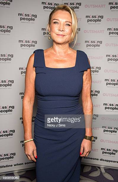 Amanda Redman arrives for the 'Home for Christmas' fundraising dinner and auction in aid of Missing People at the Corinthia Hotel on November 05 2015...