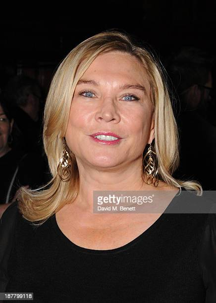 Amanda Redman attends an after party celebrating the press night performance of 'Perfect Nonsense' at the The Royal Horseguards on November 12 2013...