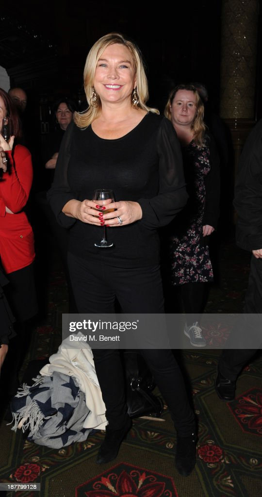 Amanda Redman attends an after party celebrating the press night performance of 'Perfect Nonsense' at the The Royal Horseguards on November 12, 2013 in London, England.