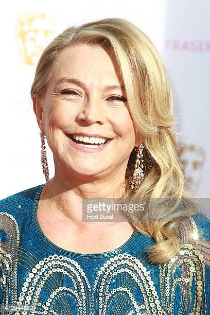 Amanda Redman attends the House of Fraser British Academy Television Awards 2015 Theatre Royal on May 10 2015 in London England