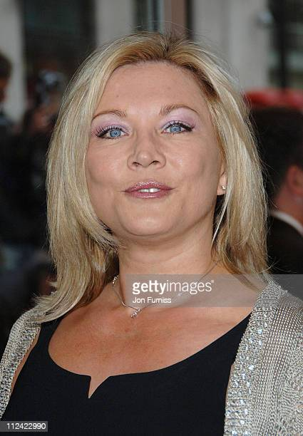 Amanda Redman during 'Three' London Premiere Inside Arrivals at Odeon Leicester Square in London Great Britain