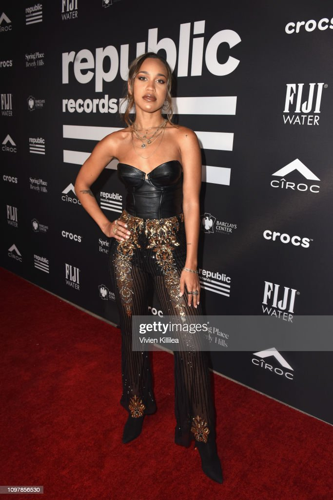 CA: FIJI Water At Republic Records Grammy After Party