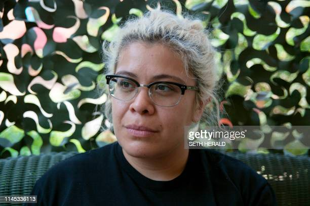 Amanda Reyes, spokeswoman for the Yellowhammer Fund sits for a portrait at the POWER House headquarters on May 20 in Montgomery, Alabama. - Abortion...