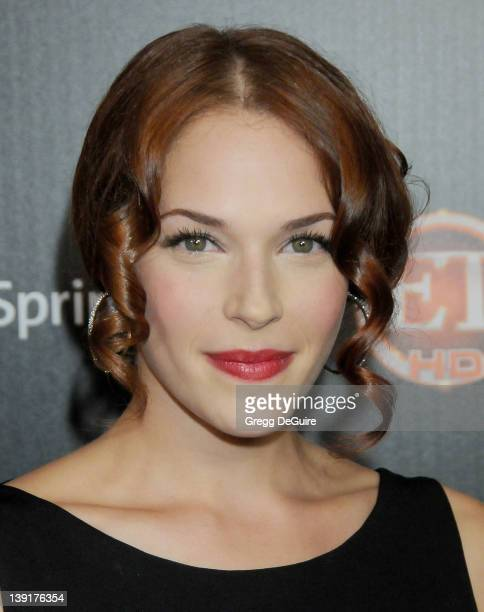 Amanda Righetti arrives at TV Guide Magazine's Hot List Party at SLS Hotel on November 10 2009 in Los Angeles California