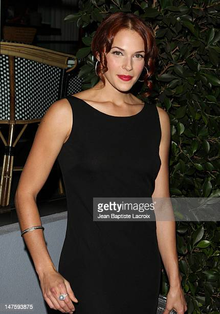 Amanda Righetti arrives at TV GUIDE Magazine's Hot List Party at SLS Hotel on November 10 2009 in Beverly Hills California