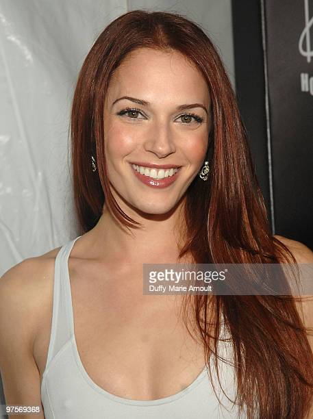 Amanda Righetti attends E Oscar Viewing And After Party at Drai's Hollywood on March 7 2010 in Hollywood California