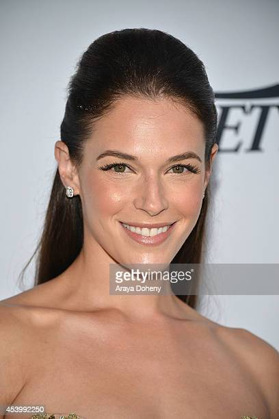 Amanda Righetti attends Heifer International's 3rd Annual 'Beyond Hunger A Place At The Table' Gala at Montage Beverly Hills on August 22 2014 in...