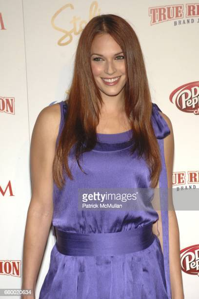 Amanda Righetti attends Maxim's 10th Annual Hot 100 Celebration at The Barker Hangar on May 13 2009 in Santa Monica California